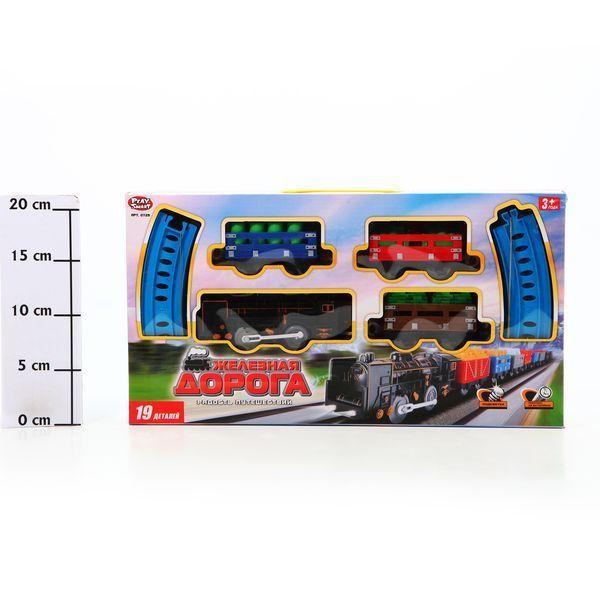фото Железная дорога Joy Toy, 20 дет, 39*21*5, 5 см, Box, арт. 0729