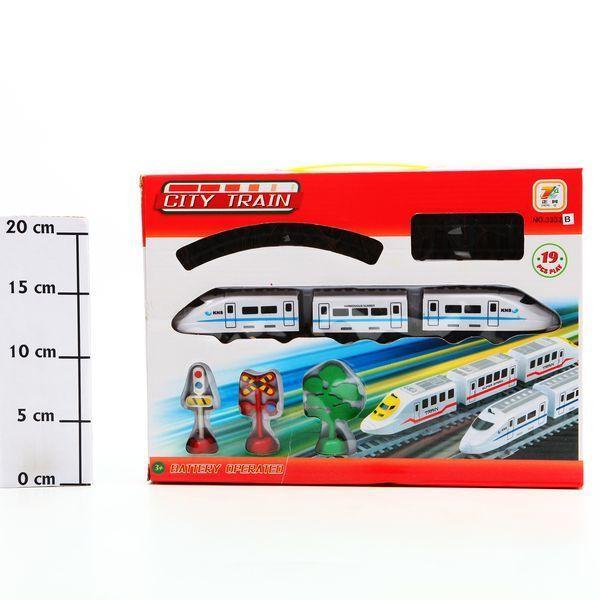 фото Ж/Д City Train, 34*24*4, 5см, BOX, арт. 3332A/B