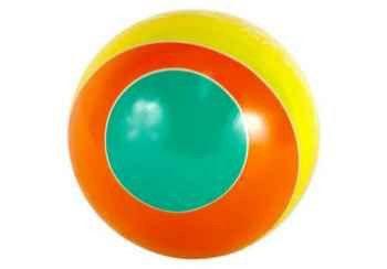 фото Мяч д. 125мм лакир.