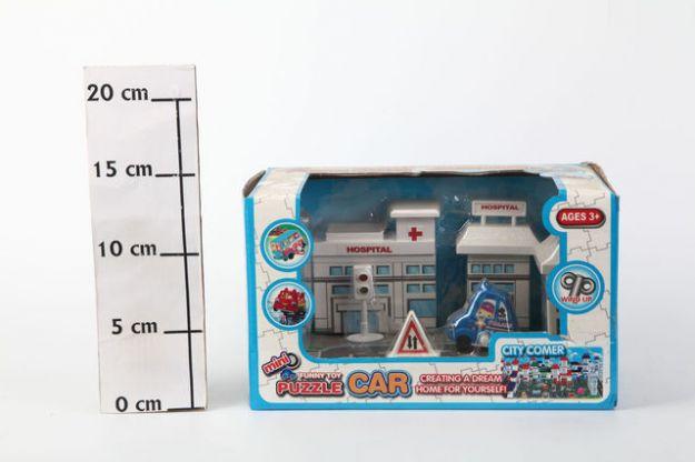 фото Заводная машинка Puzzle Car, Box, арт. TH-H059