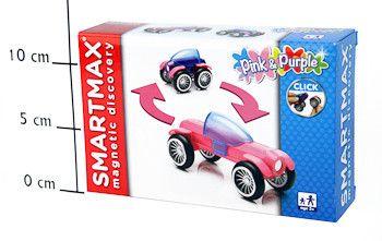фото Магнитный конструктор SmartMax/ Bondibon Специальный (Special) набор: Розовый и Фиолетовый, арт. 115.