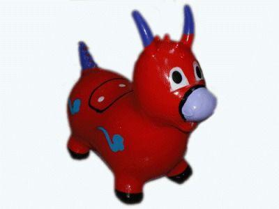 фото Надувная игрушка-попрыгунчик. . Материал: ПВХ. Высота 58 см. YJ-DW1