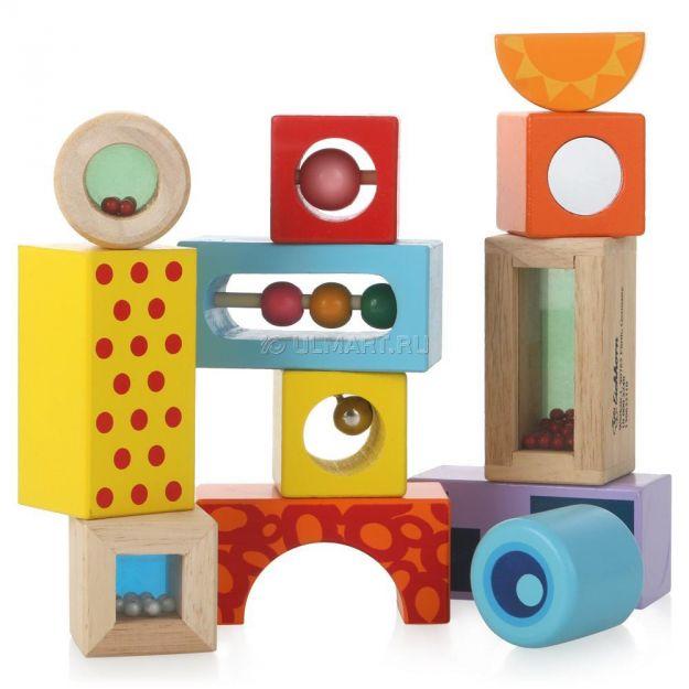 фото Игрушка Кубики со звуком, 12 предметов  (2240)