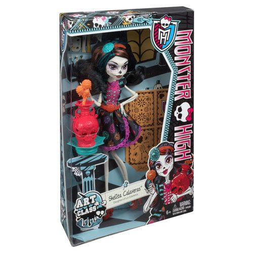 фото Monster High - Art Class Doll - Skelita Calaveras