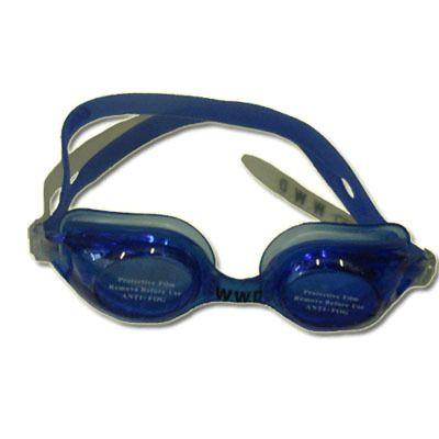 фото Очки для плавания, материал оправы - силикон, зеркальные линзы с защитой от UV-лучей, антизапотевающее покрытие, автоматическая система регулирования ремешков, беруши в комплекте. Пластиковая упаковка WG42А