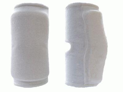 фото Защита колена. Размер S. Материал: полиэстр, пеноматериал. Цвет черный и синий QG0404