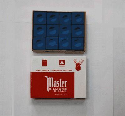 фото Мелки для кия (6 упаковок по 12шт) МЕ-01