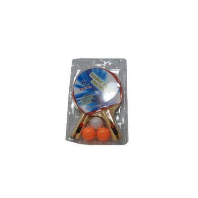 фото Набор для н/т (2 ракетки +3 шар. в слюде). SН-008А