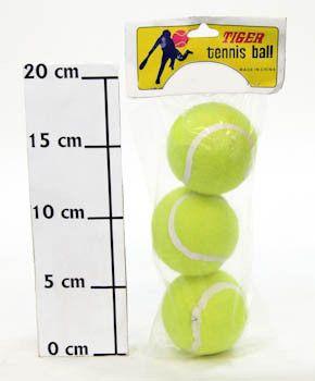 фото Теннис. мяч тигр цена за упак 3 шт 602