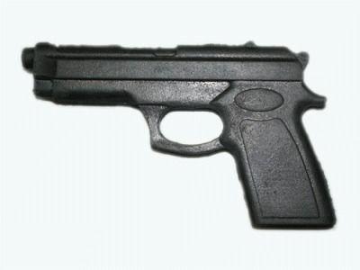 фото Пистолет тренировочный резиновый.