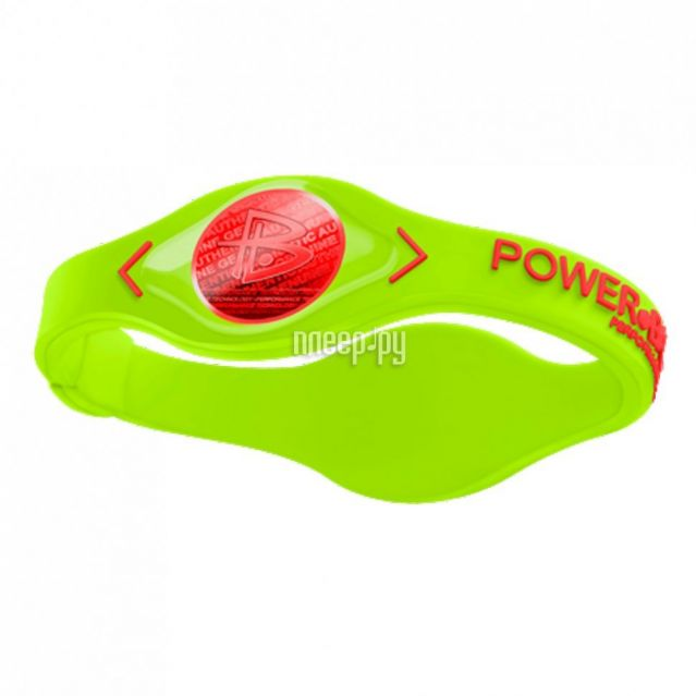 фото POWER BALANCE XS VOLT Red Hologram Green/Red