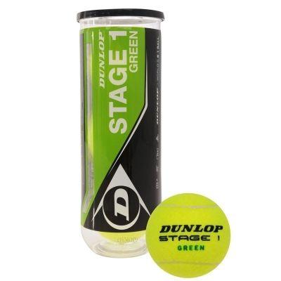 фото Мяч теннисный Dunlop Stage 1 (GREEN) 3B,арт.602204, уп.3шт,фетр. Мяч теннисный Dunlop Stage 1 (GREEN) 3B,арт.602204, уп.3шт,фетр.