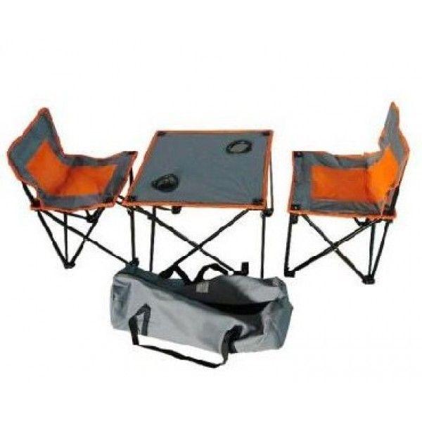 фото Стол складной с двумя стульями (в сумке) Ирит IRG-520