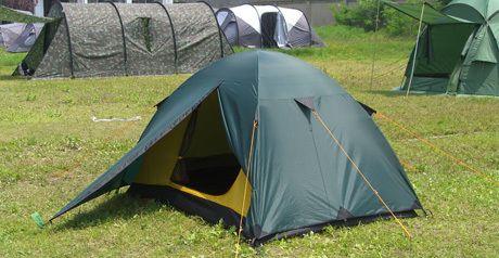 фото Палатка SCOUT 2 \ green, 240x210x100