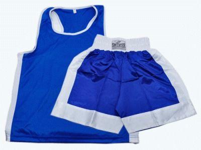 фото Форма бокс.( майка+шорты) синяя, р.L синяя, р.L