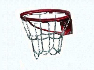 фото Сетка -цепь для баскетбола, антивандальная на № 7 1SC-GR