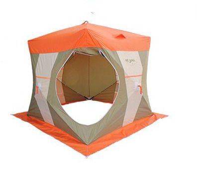 фото Палатка рыбака Нельма-Куб 1
