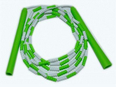 фото Скакалка пластик, шнур синтетическая ткань.