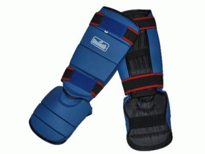 фото Защита ног (голень+стопа) модель В, размер L (ребристая)