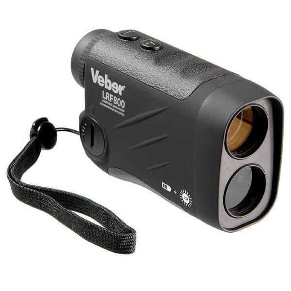 фото Монокуляр Veber 6*25 с дальномером LRF800 черный