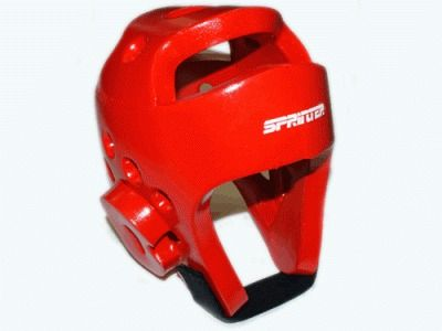 фото Шлем для тхеквондо. Размер L. Цвет красный. ZTT-002К-L