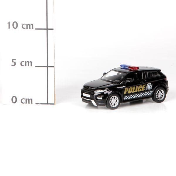 фото Метал. инерц. модель М1:32 RMZ CITY Range Rover Evoque - полиция, арт. 554008P.