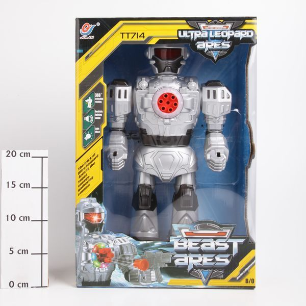 фото Робот на бат. , Beast Ares, свет, звук, разворот, ВОХ, арт. TT714B