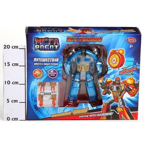 фото Трансформер Мега Робот, Повелитель времени, Play Smart, BOX 29, 5х23, 5х8 см. , арт. 7536