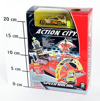 фото Игр. набор Realtoy BOX Автодром, в компл. 1 машина, арт. 28519