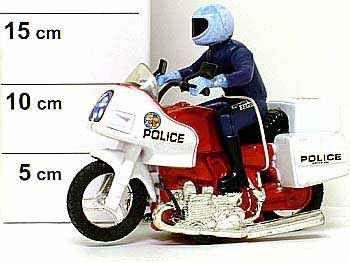 фото Полицейский на мотоцикле РАС 20х8х15см 1825-10