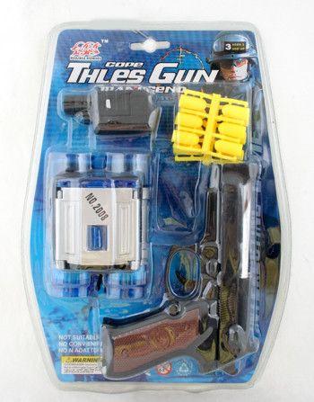 фото Оружие PVC 27*20 см. Пистолет, бинокль арт. 3021B