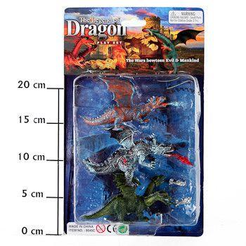 фото Набор животных The Legend of Dragon, CRD, арт. 9545CS3