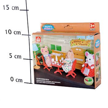 фото Игровой набор Happy Family, 12, 5*13*4 см, Box, арт. 012-03B