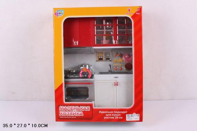 фото Набор игровой мебель кухни Play Smart Маленькая хозяйка ВОХ 35х27х10 см, арт. 2139.