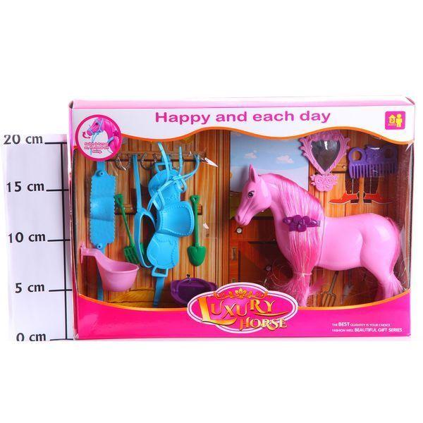 фото Игр. Набор Конюшня Luxury Horse, Box 33х23х5, 5 см. , арт. 686-644