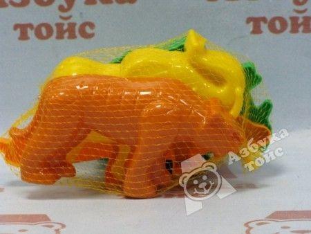 фото П36568 Формочки (тигр+мамонт+динозавр) (12)