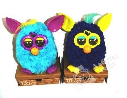 фото 39834Н Furby. Игрушка Интерактивная - Холодная волна (  в ассортименте голубой, белый, черный)