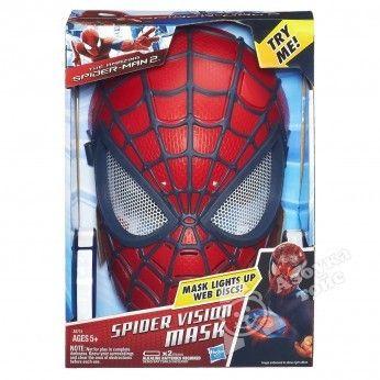 фото А5713Н SPIDER-MAN. Маска Человека-Паука электронная