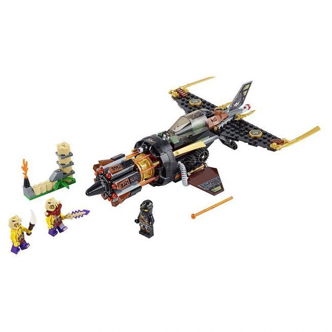 фото Конструктор Lego Ninjago Скорострельный истребитель Коула (70747)