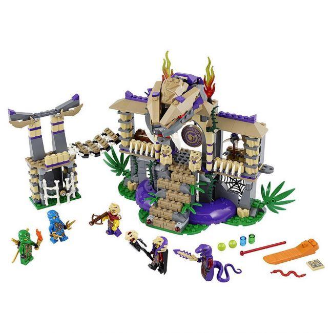 фото Конструктор Lego Ninjago Храм Клана Анакондрай (70749)