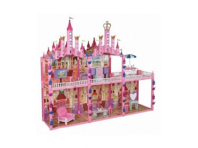 фото Т53237 1toy Красотка Замок для кукол с меб., 187дет.