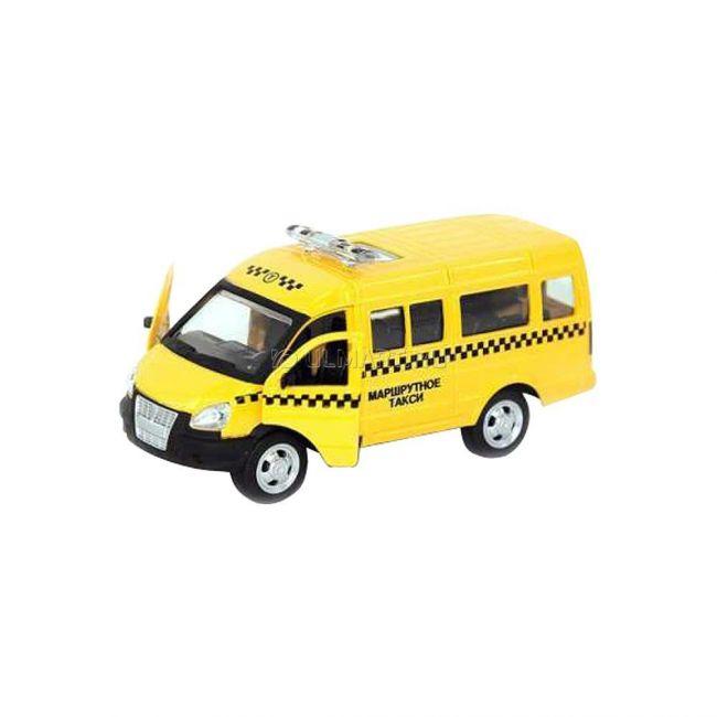 фото PLAY SMART, 1:50, Автомобиль, Серия Автопарк, ГАЗ-3221, маршрутное такси, желтое (M6404C/EXD(3))