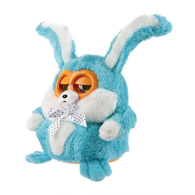 фото Интерактивная игрушка KAKADU FRIENDS Кролик Бани, синий (6686_blue)