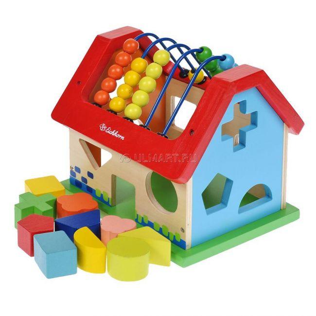 фото Развивающая игра- домик  (2094)