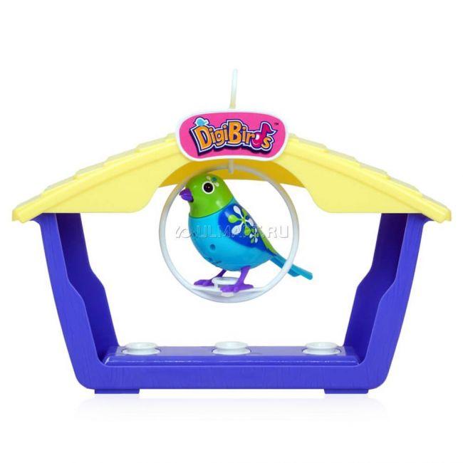 фото Игрушка интерактивная большой дом для птиц с одной птицей (88026S)