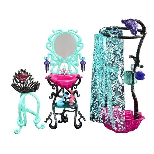 фото Monster High - Frights, Camera, Action! - Dressing Room Playset