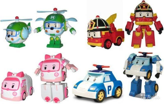 фото Трансформер Robocar Poli (Робокар Поли) (Имя персонажа: Хэли , Цвет: Зеленый)