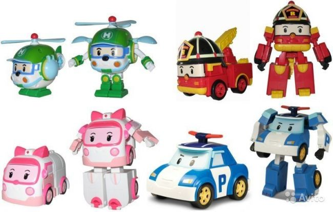 фото Трансформер Robocar Poli (Робокар Поли) (Имя персонажа: Эмбер , Цвет: Розовый)