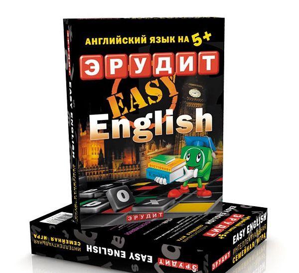 фото Игра 'Эрудит' Easy English (подарочная упаковка)