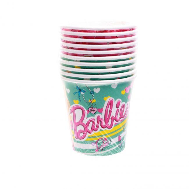 фото Barbie. Стакан бумажный (10 шт) (20945)